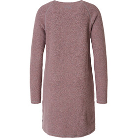 Varg Fårö Long Wool Dress Women burned pink